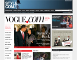 Style.com Vogue Home Page