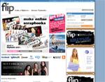 Flip.com Home Page
